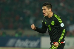 Mexico striker Raul Jimenez.