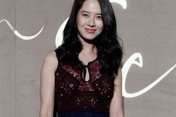 Actress Song Ji Hyo attends the Burberry Seoul Flagship Store Opening Event on October 15, 2015 in Seoul, South Korea.