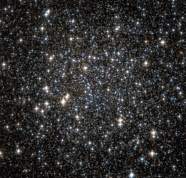Hubble Space Telescope Observation of the central region of the Galactic globular cluster NGC 6101.