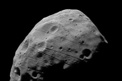 An asteroid similar to this one was photographed by a Chinese observatory as it travels past the Earth.