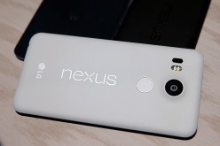 The new Nexus 5X phone is displayed during a Google media event on September 29, 2015 in San Francisco, California. Google unveiled its 2015 smartphone lineup, the Nexus 5x and Nexus 6P, the new Chromecast and new Android 6.0 Marshmallow software feature