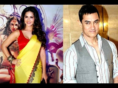 Actors Sunny Leone and Aamir Khan to work in a film together