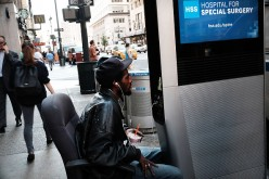 Homeless New Yorkers Use WiFi Kiosks To Stay Connected