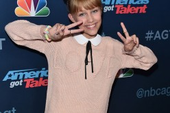 Grace VanderWaal attends the 'America's Got Talent' Season 11 Live Show at The Dolby Theatre on August 30, 2016 in Hollywood, California.