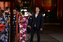 British Airways with Orlando Bloom Launch the New 787-9 Aircraft to Narita, Tokyo
