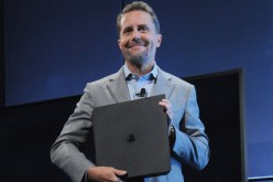 Console specs compared: Pictured, Sony's Andrew House with the new PlayStation Pro.