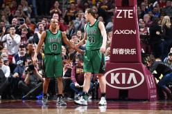 Avery Bradley and Kelly Olynyk