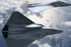 Boeing's sixth generation fighter (concept drawing).