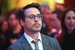 Robert Downey Jr. arrives for UK film premiere 'Captain America: Civil War' at Vue Westfield on April 26, 2016 in London, England.