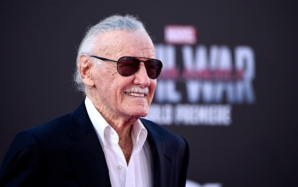 Stan Lee attends the premiere of Marvel's 'Captain America: Civil War' at Dolby Theatre on April 12, 2016 in Los Angeles, California.