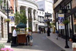 Rodeo Drive is one of the iconic places in Beverly Hills.