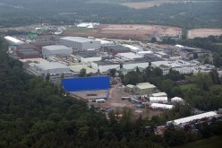 Pinewood Studios is pictured from a helicopter on June 13, 2015, in London, England.
