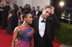 FKA Twigs  and Robert Pattinson attend the 'China: Through The Looking Glass' Costume Institute Benefit Gala at the Metropolitan Museum of Art on May 4, 2015 in New York City.