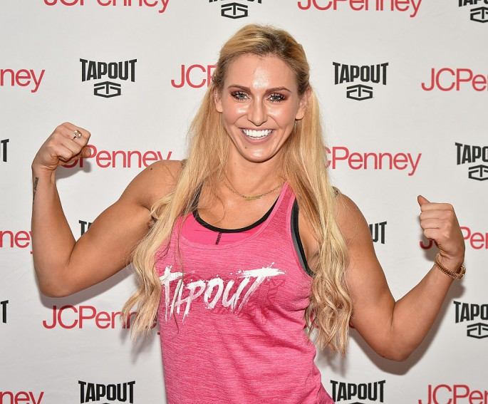Charlotte attends WWE Superstars Dolph Ziggler And Charlotte Meet & Greet at JCPenney on August 18, 2016 in New York City.