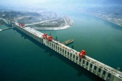 China's Three Gorges Dam, the world's largest dam.