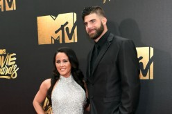 'Teen Mom' star Jenelle Evans and David Eason attend the MTV Movie Awards.