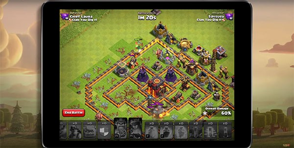 "Supercell reveals the new gameplay trailer for ""Clash of Clans."""