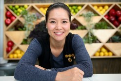 Li Na poses at the Blackmores Wellbeing Oasis during the 2016 Australian Open at Melbourne Park on Jan. 20, 2016, in Melbourne, Australia.