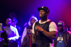 50 Cent performs onstage at the Power105.1 Breakfast Club Anniversary party presented by Verizon on December 17, 2015.
