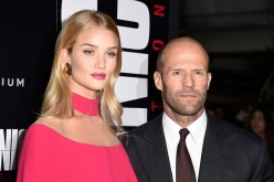 Rosie Huntington-Whiteley (L) and Jason Statham arrives at the Premiere of Summit Entertainment's 'Mechanic: Resurrection' at ArcLight Hollywood on August 22, 2016 in Hollywood, California.