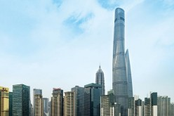 Shanghai Tower, the world's second tallest building.