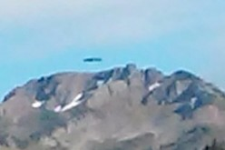 Flying Saucer is said to be lifting off a secret base in Washington.