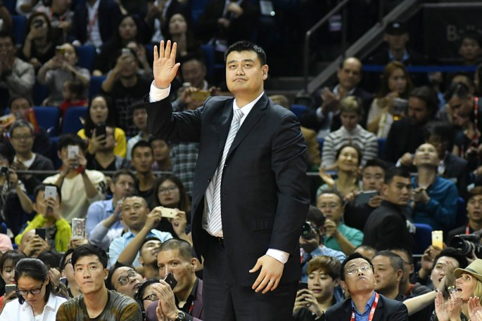Yao Ming made NBA history when he became the first Chinese player to be drafted as no. 1 pick.