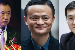 Wang Jianlin, Jack Ma and Pony Ma.