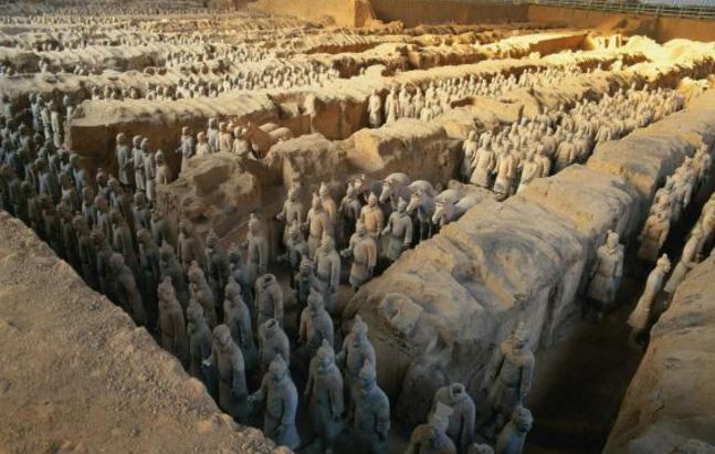 The fabled Terracotta Army.