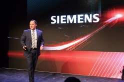 Siemens Intelligent Traffic Systems CEO Marcus Welz speaks during the Autoblog UPSHIFT 2016 on Oct. 6 in Detroit, Michigan.