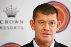 James Packer, Crown Resorts Chairman, speaks as he launches Crown Resorts' second Reconciliation Action Plan on July 31, 2015, in Melbourne, Australia.