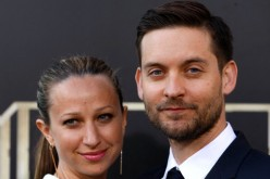 Jennifer Meyer Maguire and actor Tobey Maguire attend the 'The Great Gatsby' world premiere at Avery Fisher Hall at Lincoln Center for the Performing Arts on May 1, 2013 in New York City.