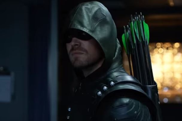 Stephen Amell stars in The CW superhero series 'Arrow.'