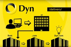 Dyn introduces their standard DNS structure.
