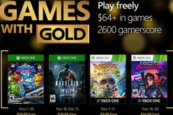 Microsoft reveals their Games with Gold lineup for November.