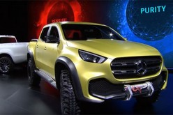 Mercedes-Benz reveals their latest vehicle lineup, the Mercedes-Benz pickup truck X-Class.