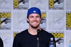Actor Stephen Amell attends the 'Arrow' Special Video Presentation and Q&A during Comic-Con International 2016 at San Diego Convention Center on July 23, 2016 in San Diego, California