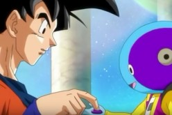 Goku meets Zeno once again and was given a gift.