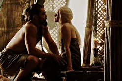 Drogo and Daenerys Targaryen.