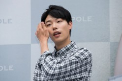 Actor Ryu Jun-Yeol attends the autograph session for 'BEANPOLE' at Lotte Department Store on July 22, 2016 in Seoul, South Korea