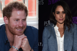 Prince Harry at the the Community Recording Studio at Russell Youth Centre on in Nottingham, United Kingdom and Meghan Markle at the P.S. Arts' The pARTy at NeueHouse Hollywood in Los Angeles, California.