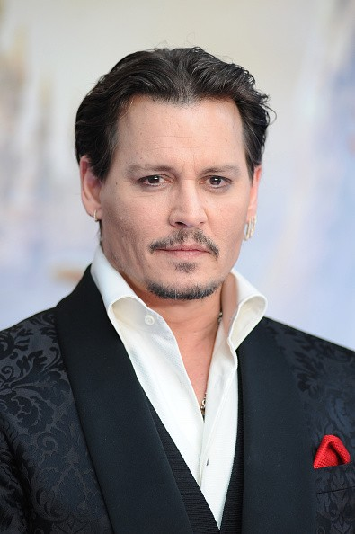 Johnny Depp attends the European premiere of 'Alice Through The Looking Glass' at Odeon Leicester Square on May 10, 2016 in London, England.