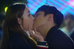 Lee Joon's kissing scene from the MBC drama 'Woman with a Suitcase.'