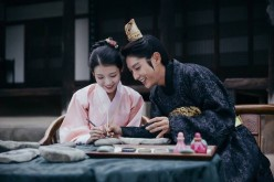 IU and Lee Joon-Gi star in the SBS drama 'Moon Lovers: Scarlet Heart Ryeo.'