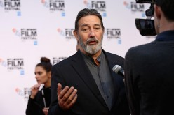 Ciaran Hinds attends the 'Bleed For This' Thrill Gala screening in association with EMPIRE magazine during the 60th BFI London Film Festival at Embankment Garden Cinema on October 9, 2016 in London, England.