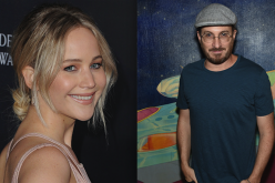 Jennifer Lawrence at the 2016 AMD British Academy Britannia Awards and Darren Aronofsky at the 45th Anniversary of Electric Lady Studios.