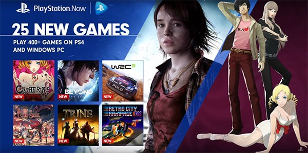 Sony reveals the new 25 PlayStation 3 games added to the PlayStation Now Library for November 2016.