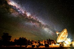 Parkes Radio Telescope in Australia.