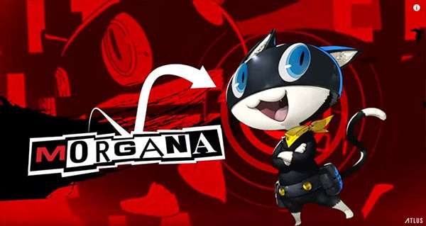"Atlus and Deep Silver introduces one of ""Persona 5's"" main characters and official mascot, Morgana."
