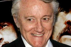 Robert Vaughn arrives for the premiere screening of AMC's 'Broken Trail' at the Lowe's Lincoln Center on June 13, 2006 in New York City.